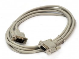 ASS. SERIAL EXT CABLE  SUB-D 9P M/F L=3MT